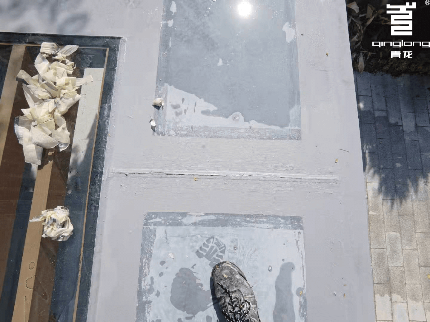 Rooftop leaking qinglong waterproofing